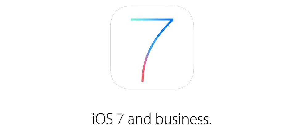 iOS 7 kommer att fokusera mer på företagsanvändare