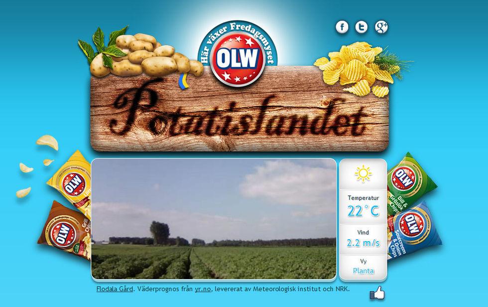 OLW:s potatis får lite air-time