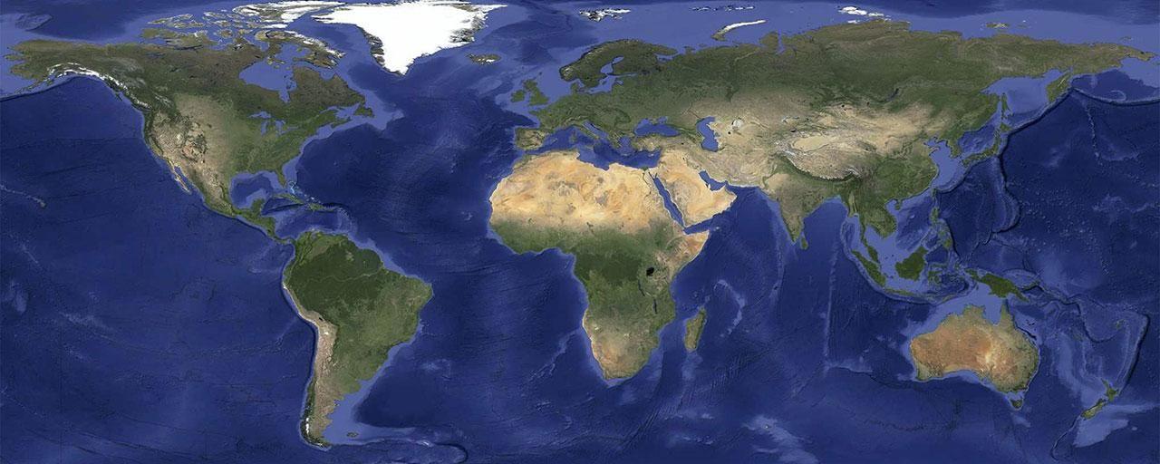 Nya satellitbilder på Google Earth och Maps