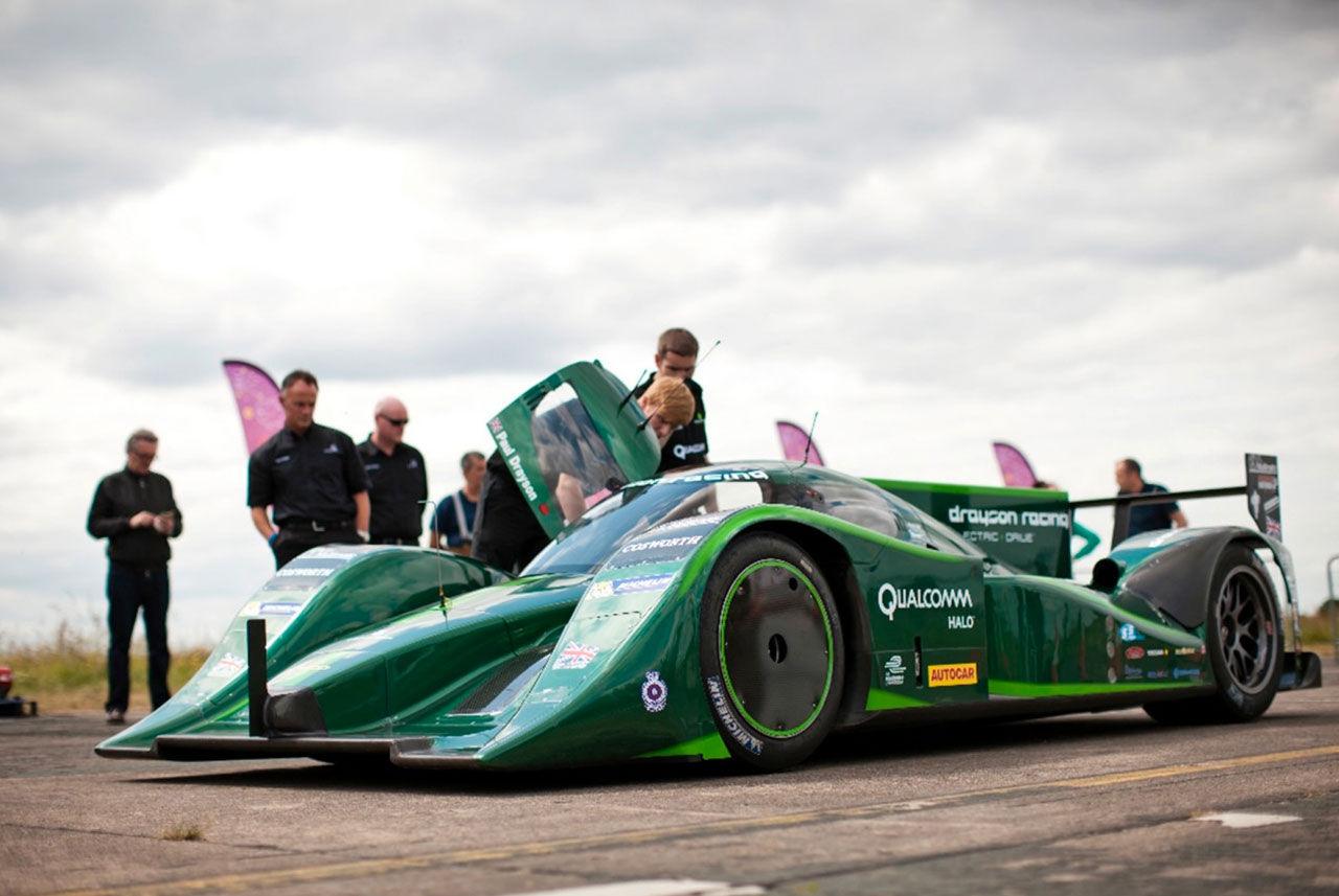 Drayson Racing EV sätter nytt hastighetsrekord för elbilar
