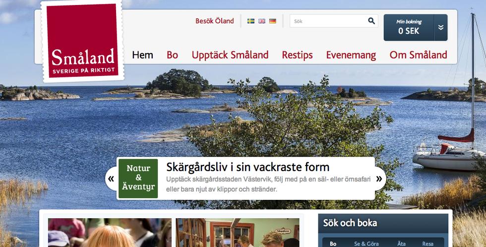 Semestra i Småland