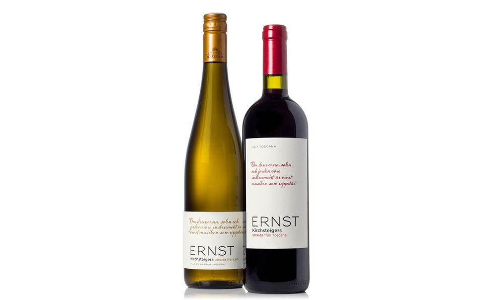 En vinhälsning från Ernst Kirchsteiger