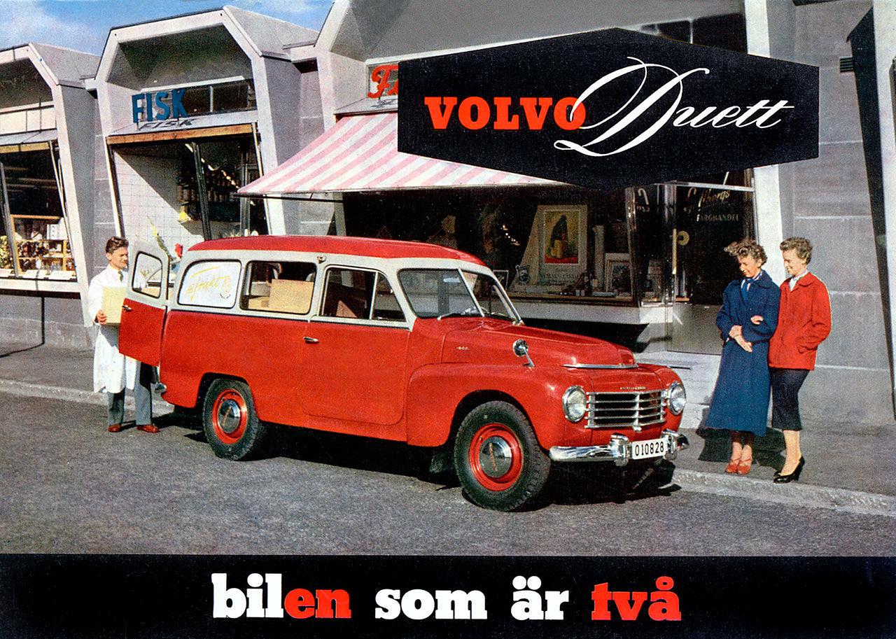 Tut i luren! Idag fyller Volvo Duett 60 år!