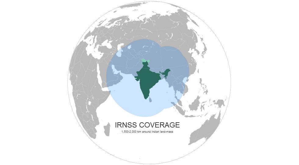 Indien bygger eget positionerings-system