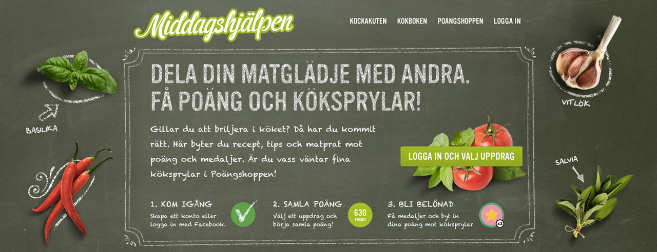 Knorr lanserar gamifierat matforum