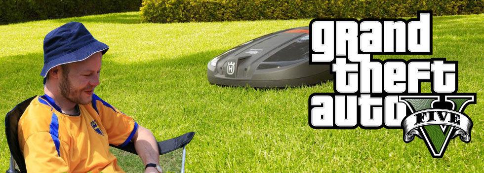 Populärt att stjäla robotgräsklippare
