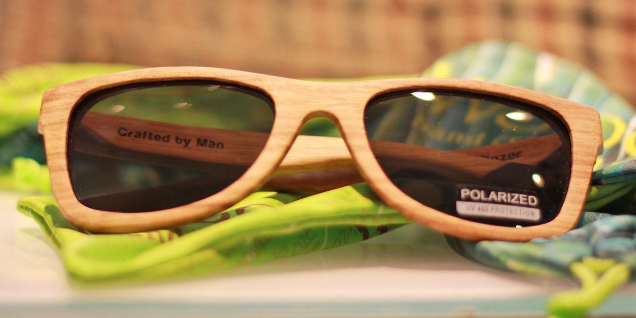 Träbrillor