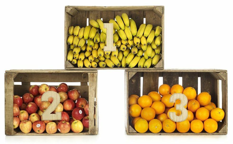 Banan populäraste frukten i Sverige