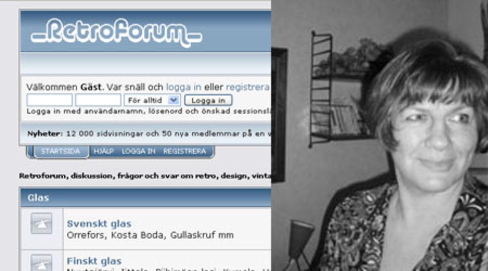 Hallå där Miriam - Grundaren av Retroforum.se