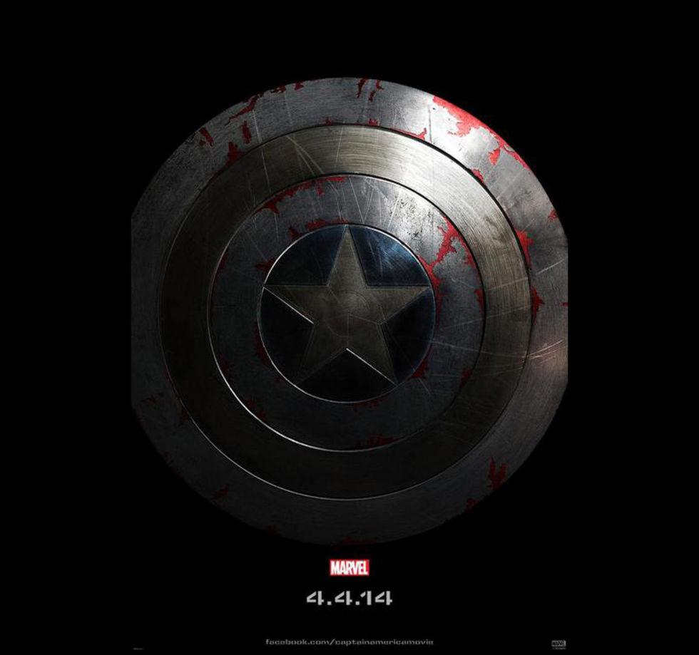 Första postern för Captain America: The Winter Soldier