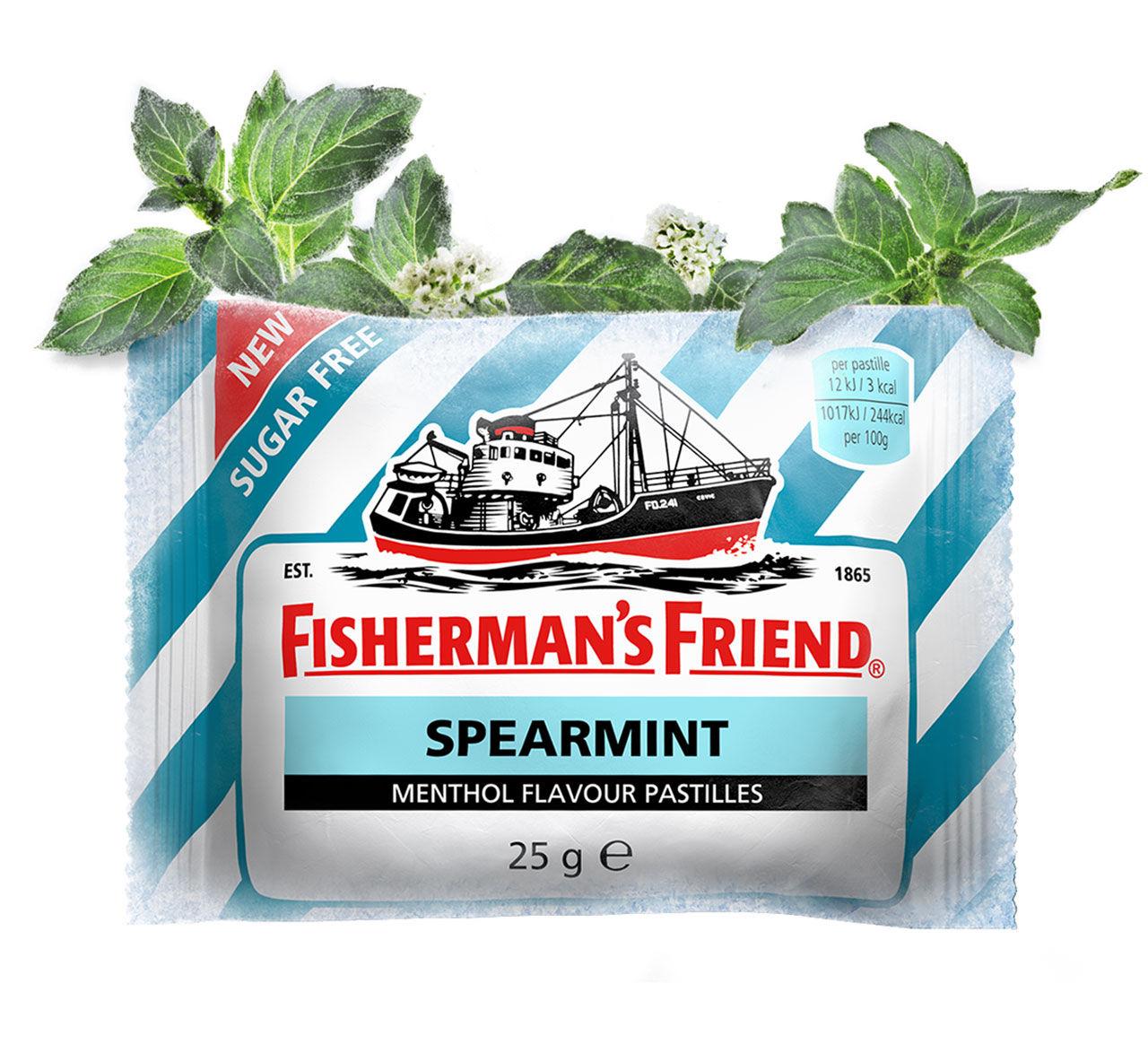 Grönmynta blir fiskarens vän