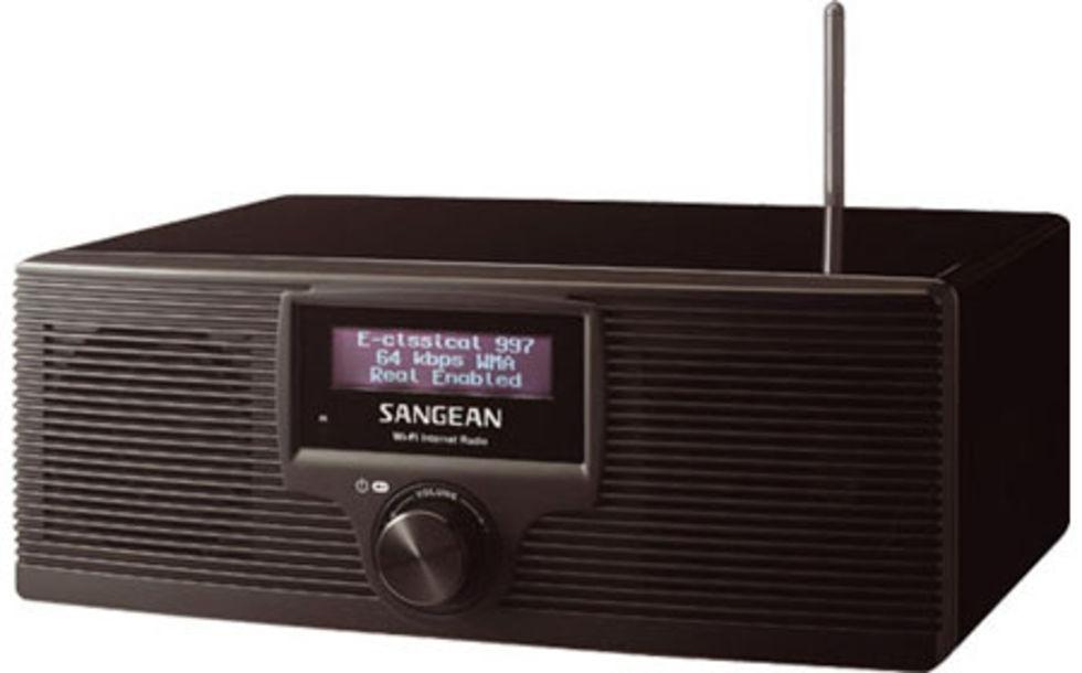WiFi-radio från Sangean