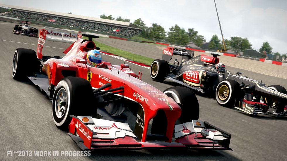Codemasters avslöjar F1 2013