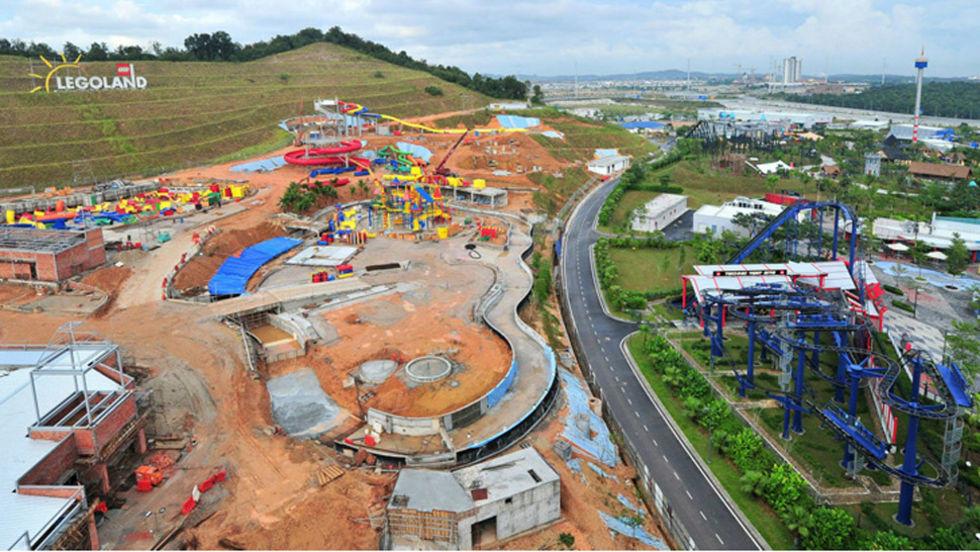 Världens största vatten-LEGOland