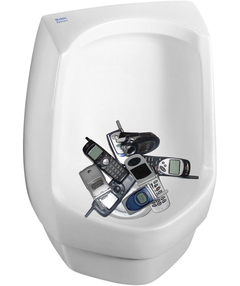 Ladda telefonen med kiss