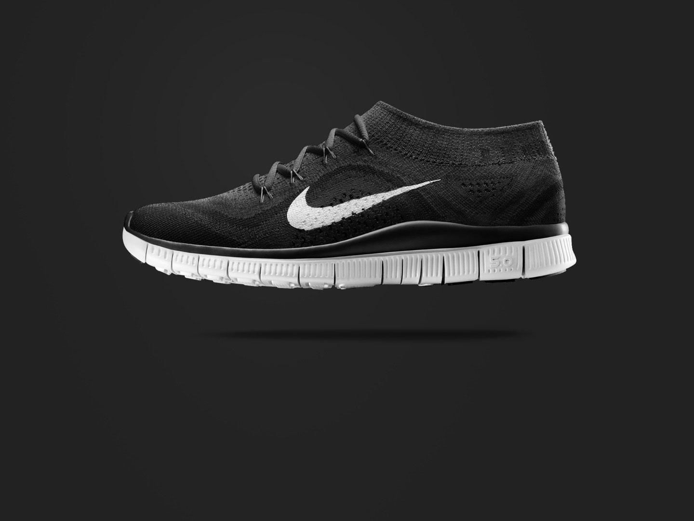 Nike gör sko som känns som strumpa. Ser skön men lite fånig