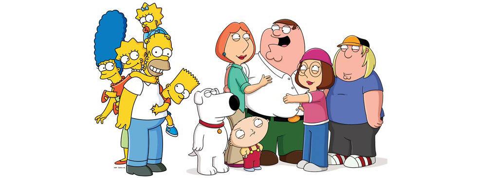 Simpsons och Family Guy gör TV ihop