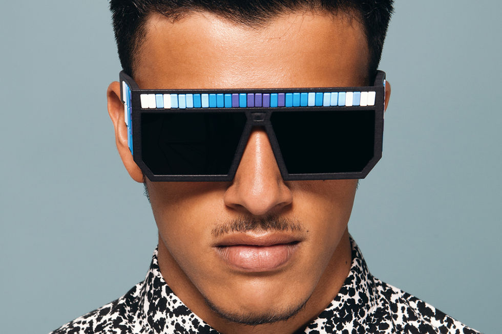Stickem in sunglasses