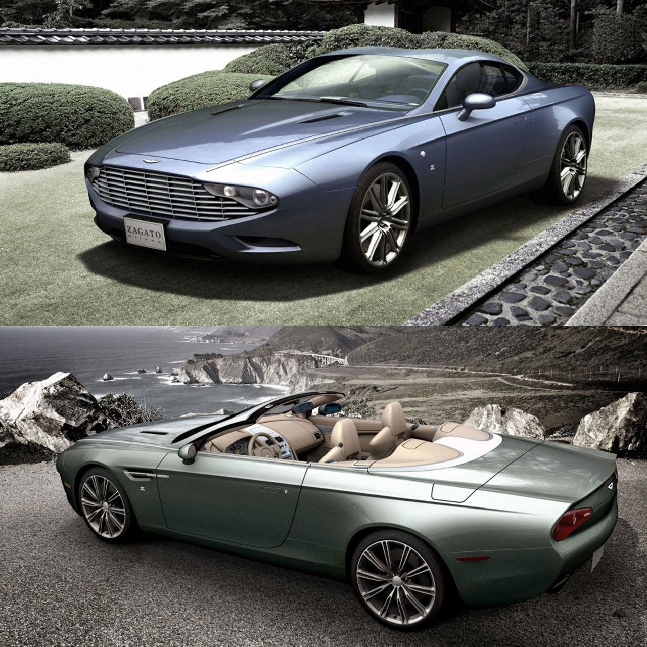 Aston Martin och Zagato visar upp två specialmodeller