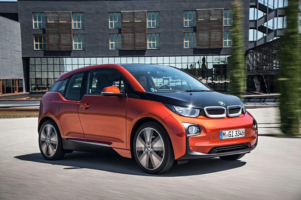 BMW:s elbil i3 är här på riktigt