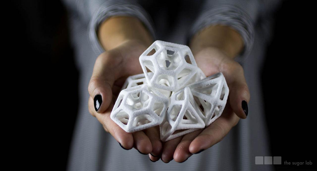 3D-printat i socker