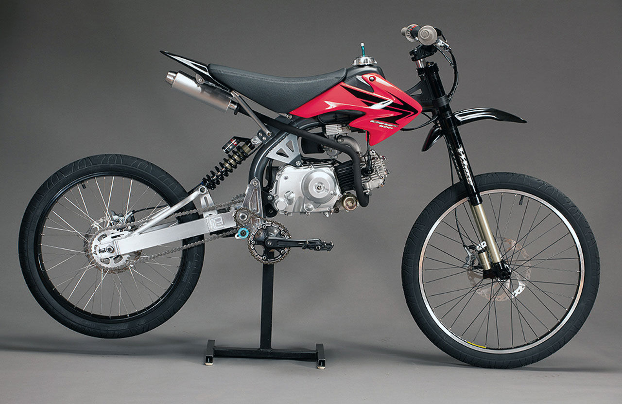 Det här är en Motoped