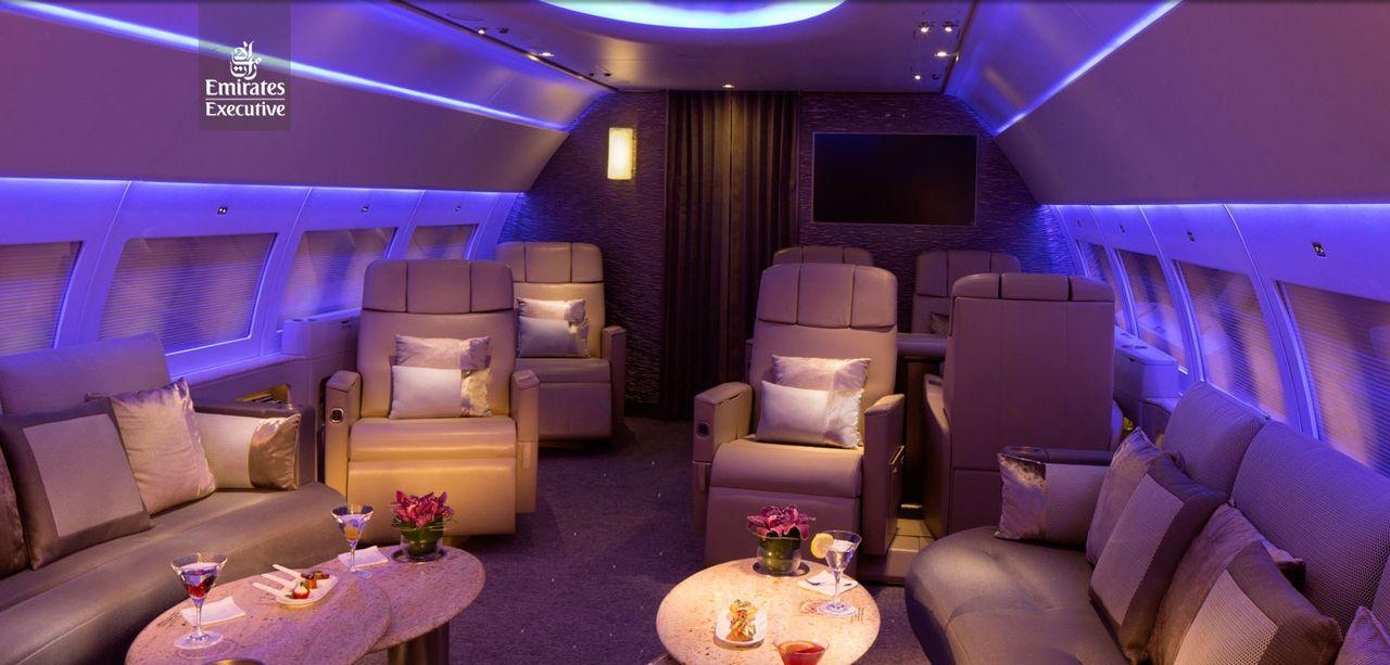 Emirates lanserar personligt privatflyg