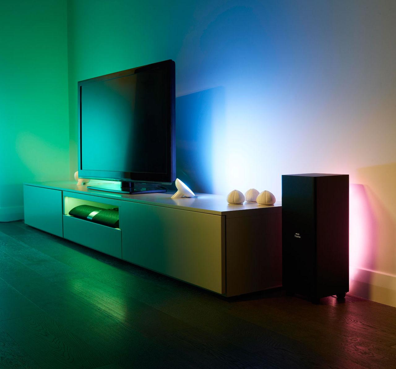Färgglad belysning från Philips
