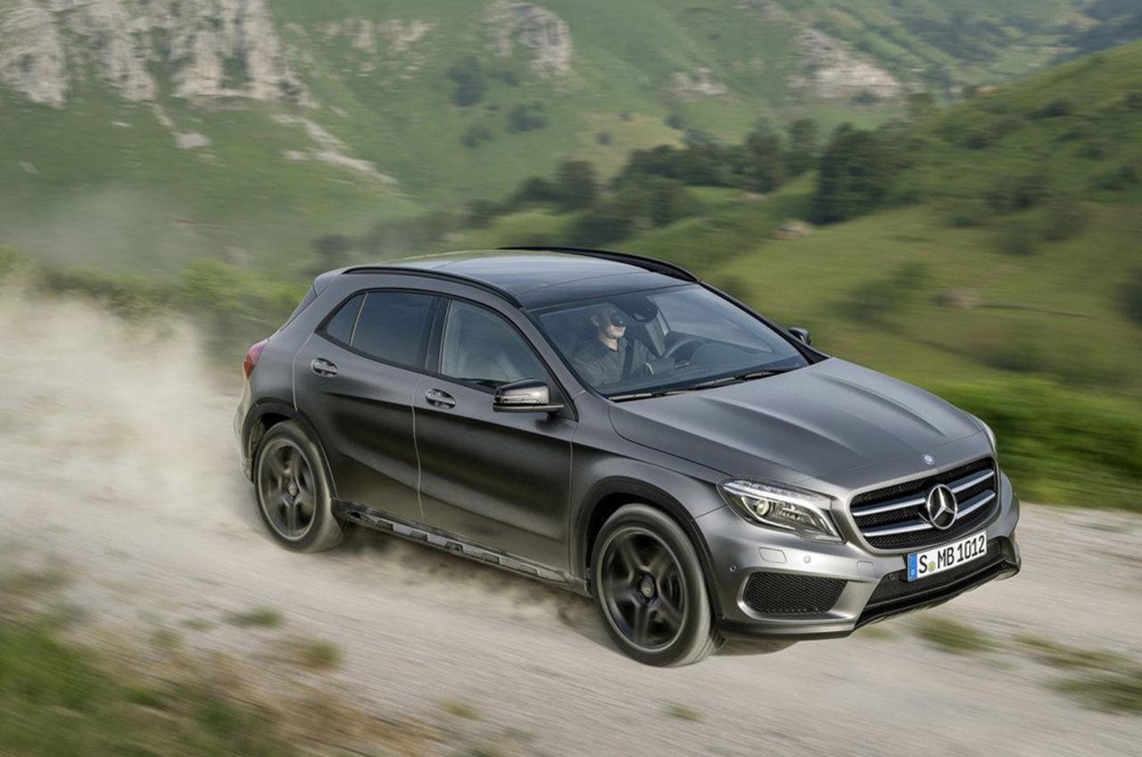 Mercedes GLA nu officiell