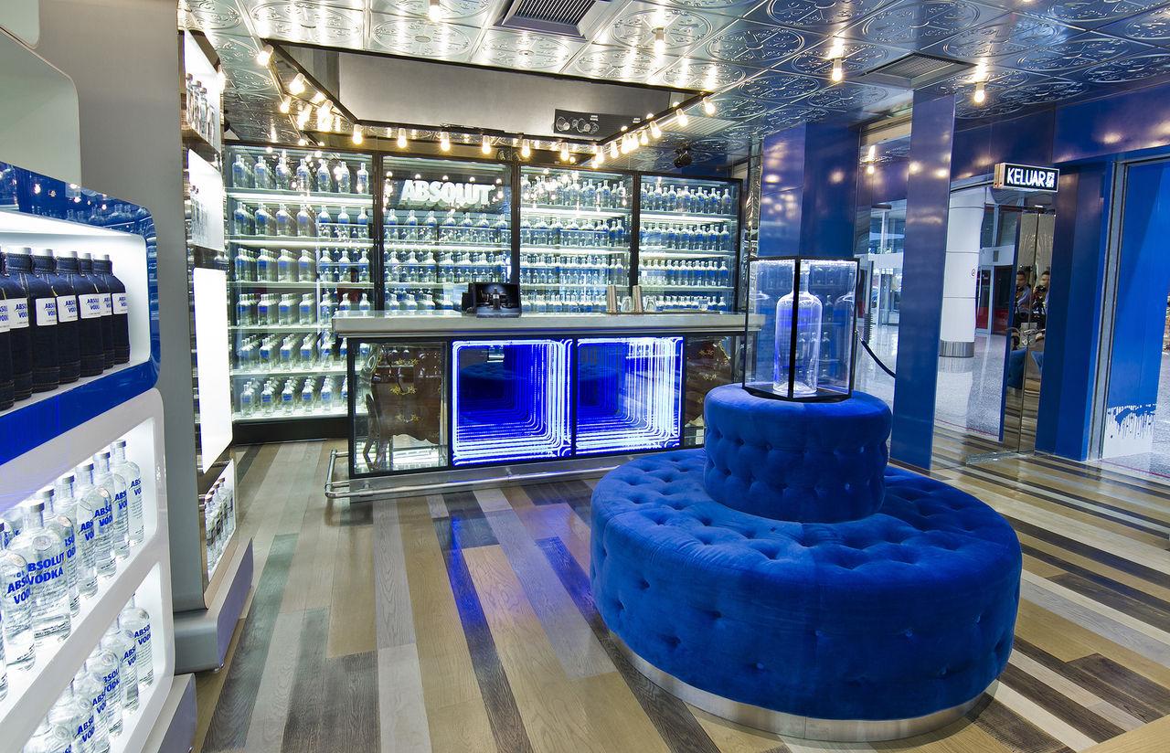 ABSOLUT VODKA öppnar konceptbutik