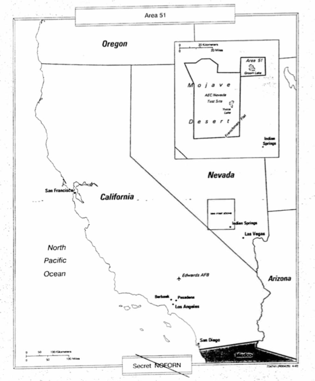 CIA släpper dokument om Area 51