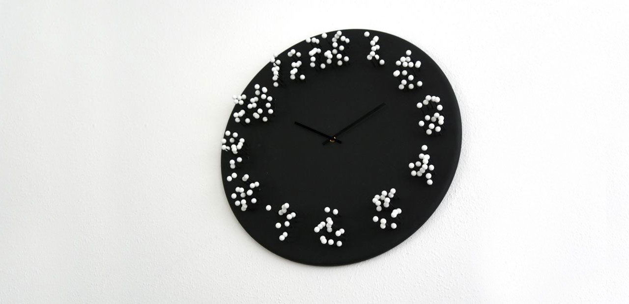 Visar tiden, fast bara ur en vinkel