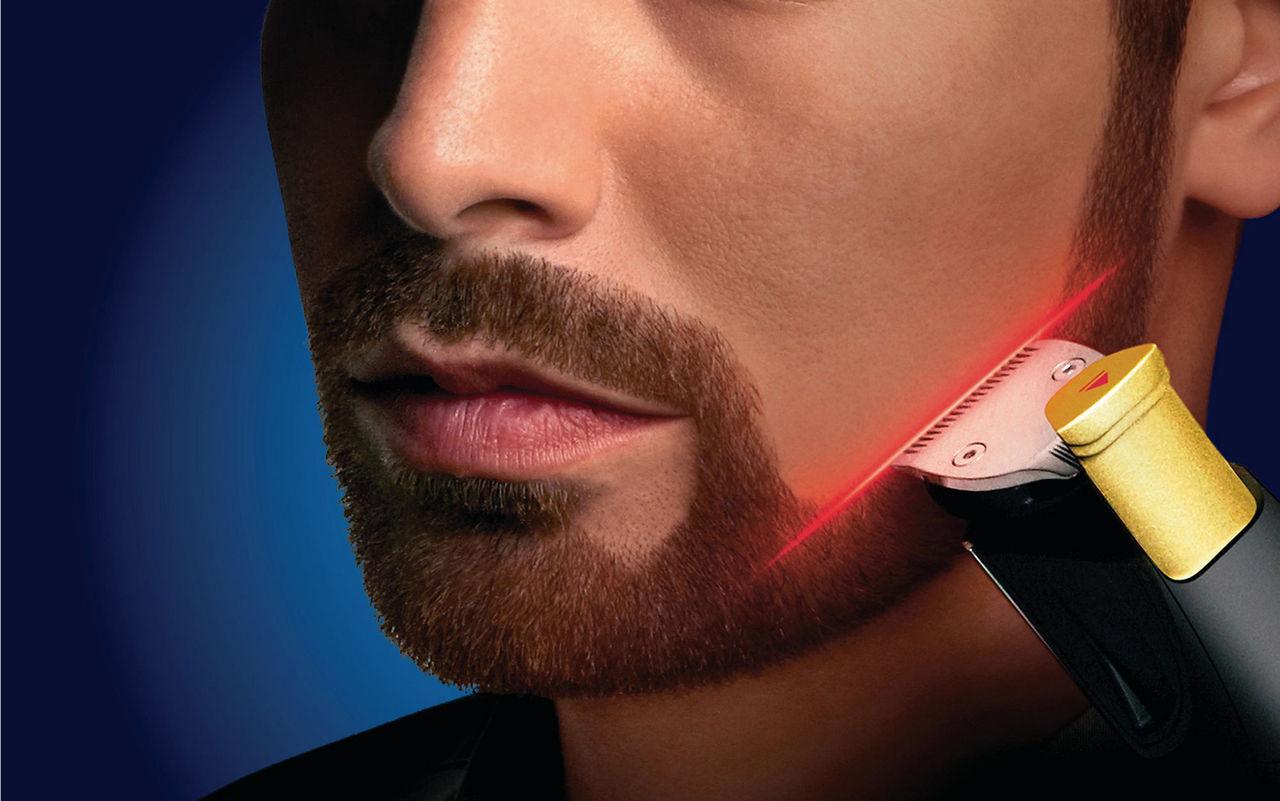 Philips nya skäggtrimmer har laser