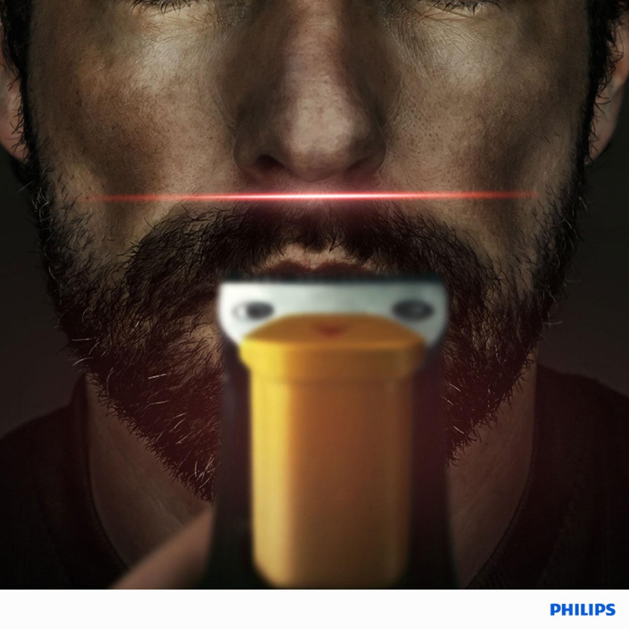 ta bort mustasch med laser