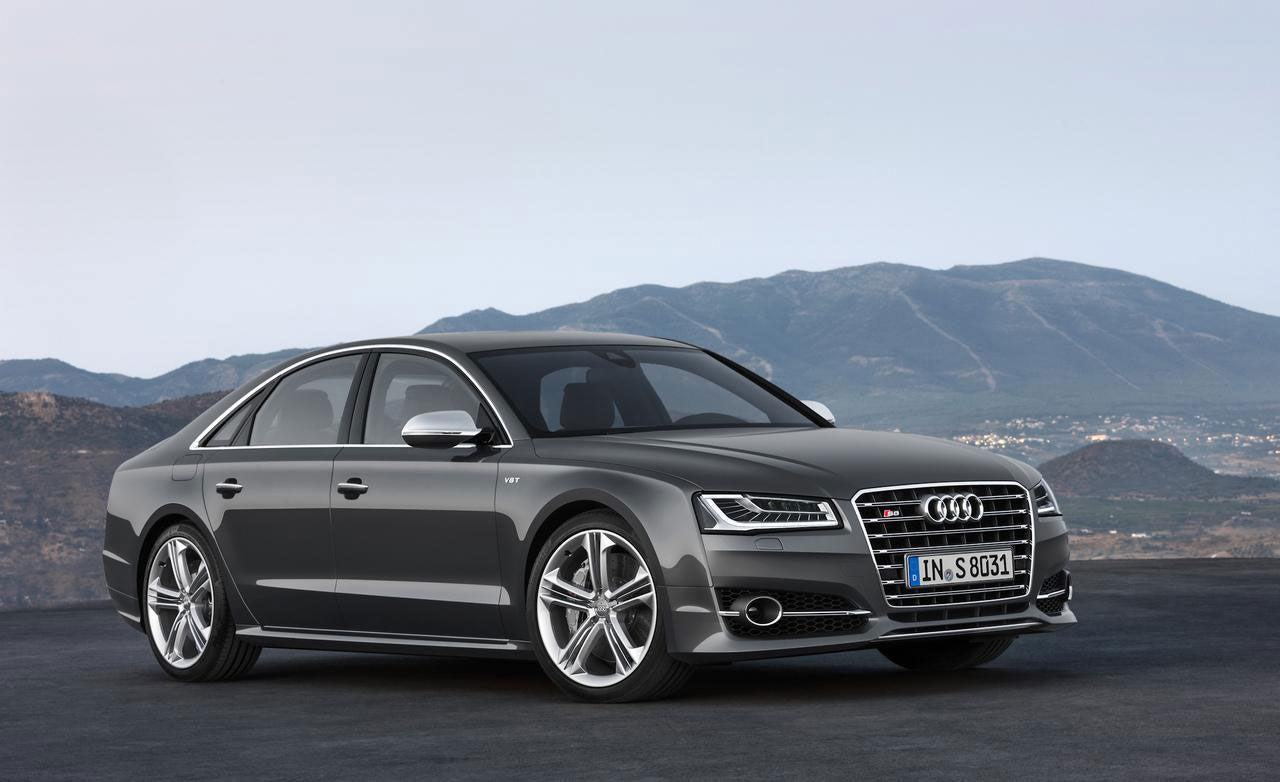 Faceliftad Audi A8 officiell