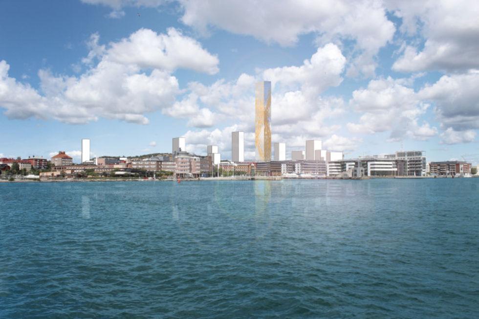 Göteborg vill bygga nordens högsta hus