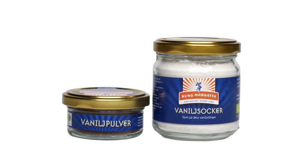 Det är gott med äkta vanilj
