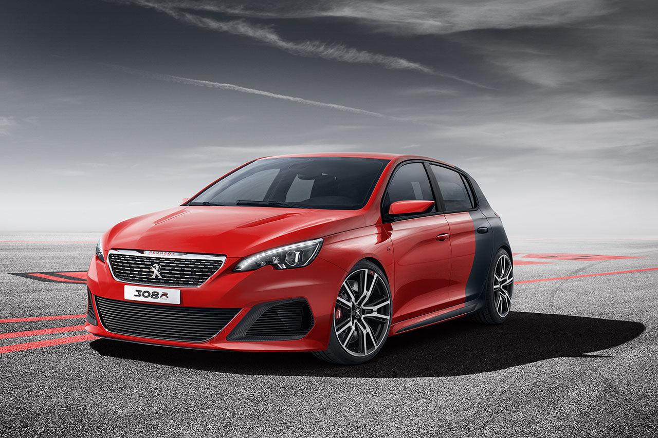 Peugeot visar krallig version av nya 308