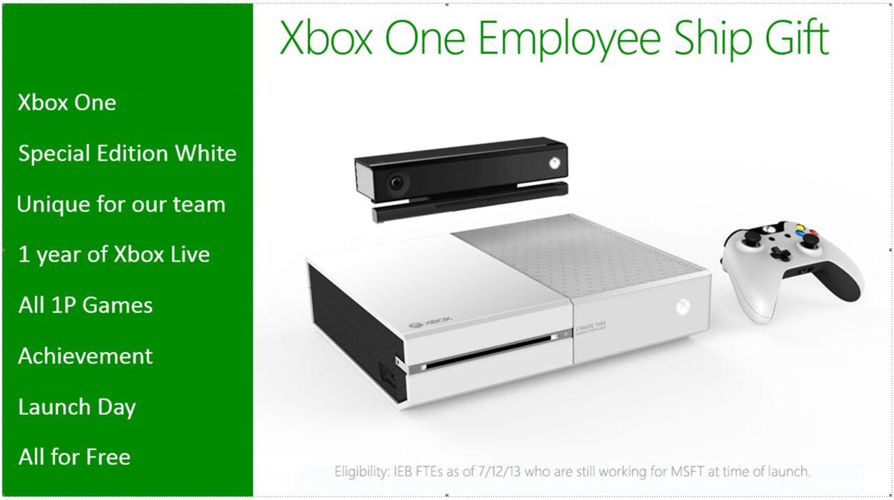 Vit Xbox One avslöjad