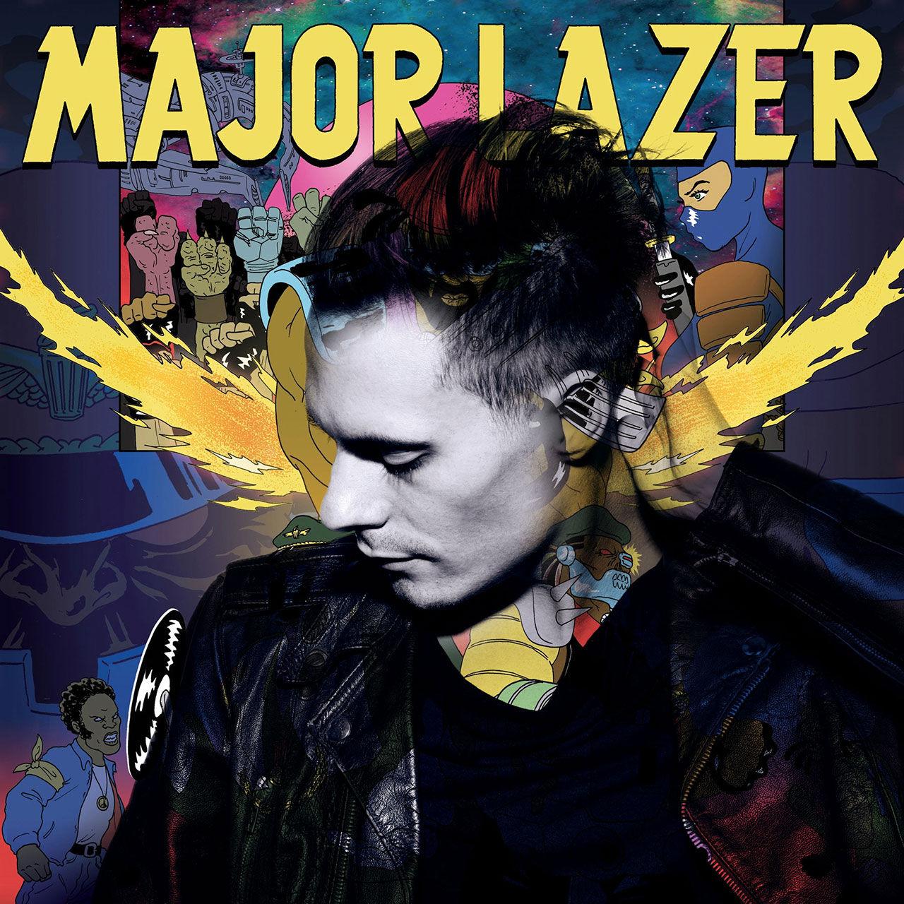 Oskar Linnros x Major Lazer