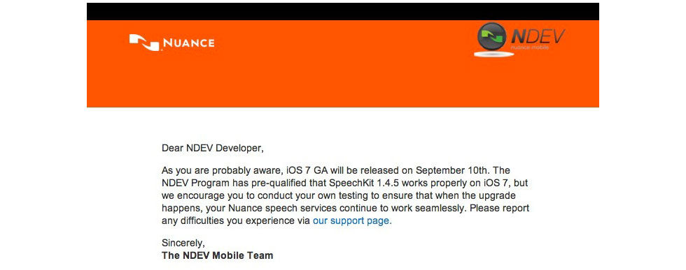 iOS 7 släpps till alla den 10:e september