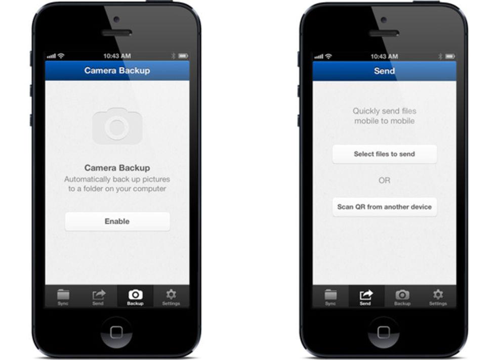 BitTorrent Sync för iOS