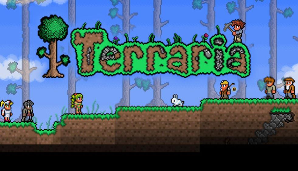 Gräv, bygg och utforska med Terraria