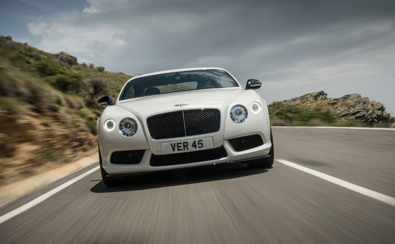 Bentley Continental GT V8 S och GTC V8 S