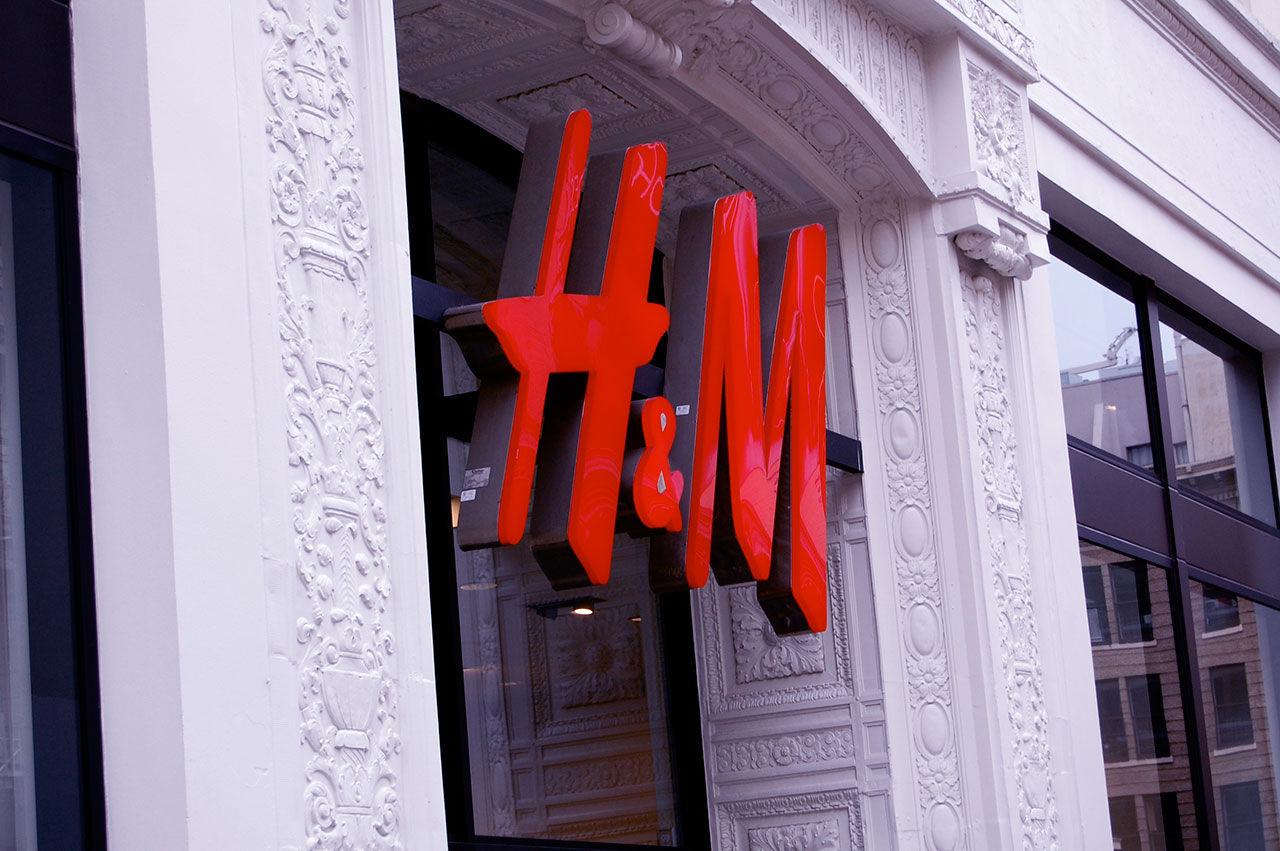 H&M öppnar butik med bara herrkläder