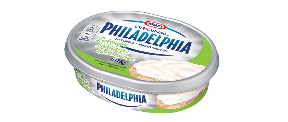 cream cheese laktosfri