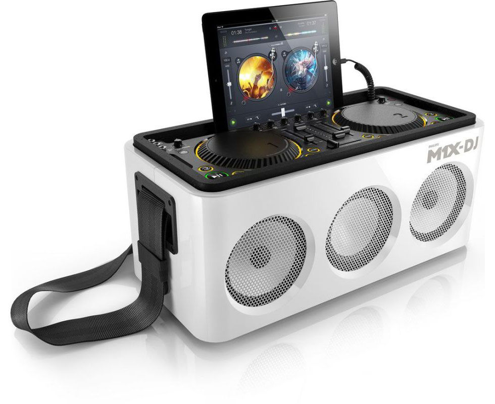 Philips presenterar DJ-systemet M1X-DJ