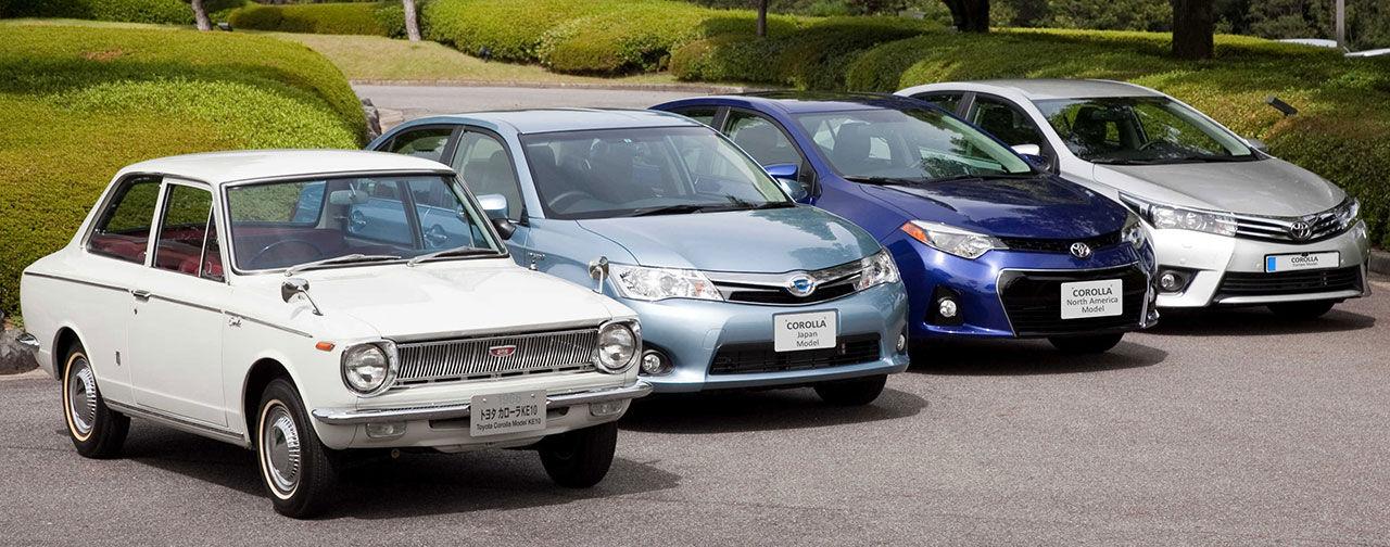 Corolla har sålts i över 40 miljoner exemplar