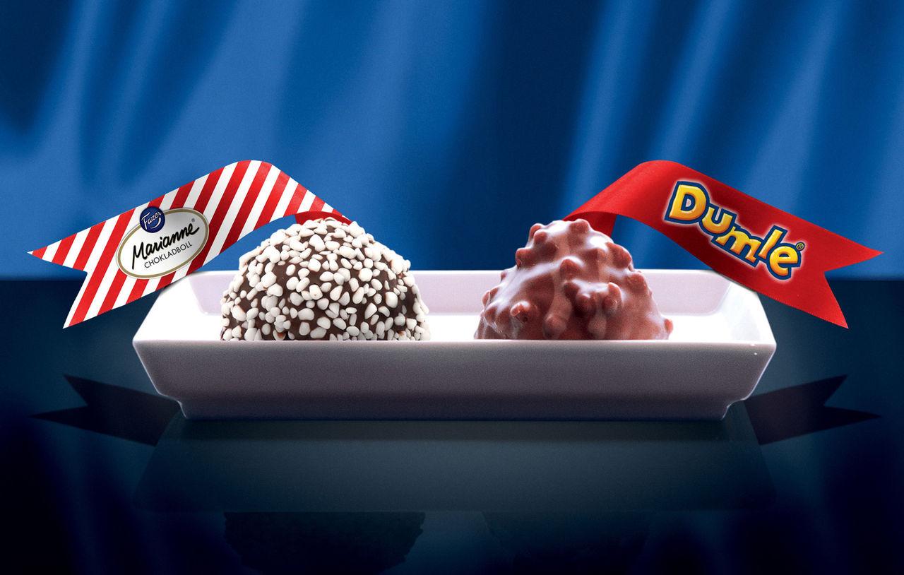 Chokladboll med smak av Marianne