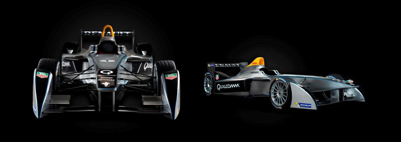 Formel E - Formel 1 fast med eldrivna bilar